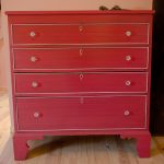 meuble-rose-vintage-patine